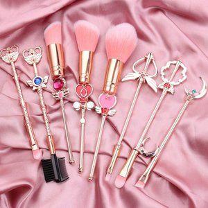 Sailor Moon Makeup Brush Set!! 🥰💞💗